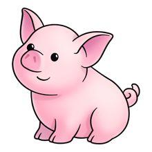 Piglet cliparts