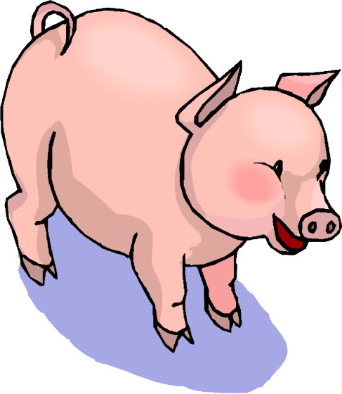 Pigs clip art-Pigs clip art-4
