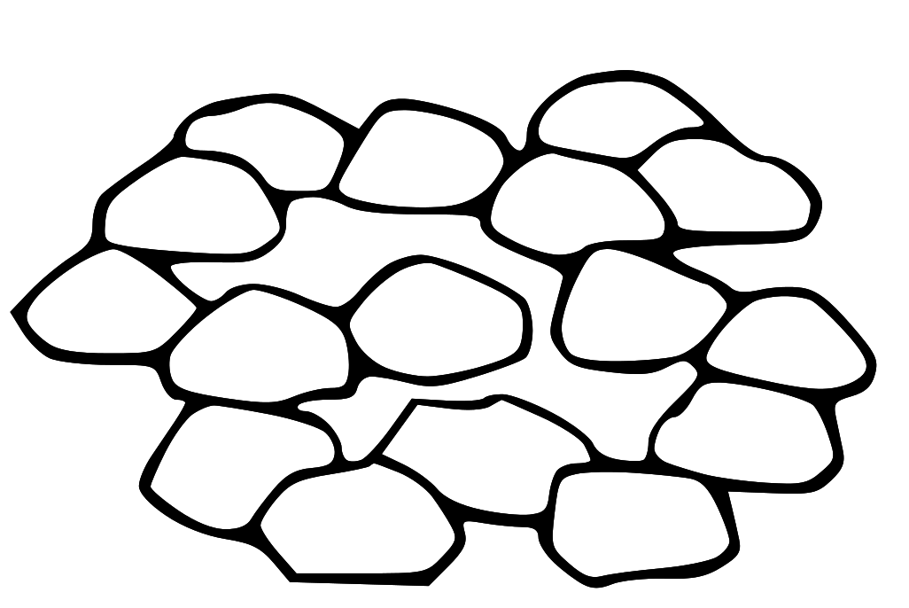 Pile Of Rocks Clipart-pile of rocks clipart-5