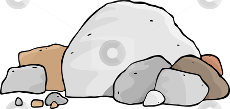 Pile Of Rocks Clipart .