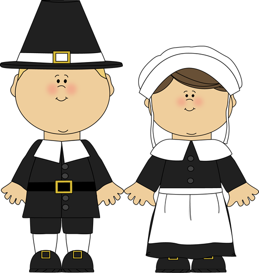 Pilgrim Boy And Girl Blond Haired Pilgri-Pilgrim Boy And Girl Blond Haired Pilgrim Boy And A Pilgrim Girl-0