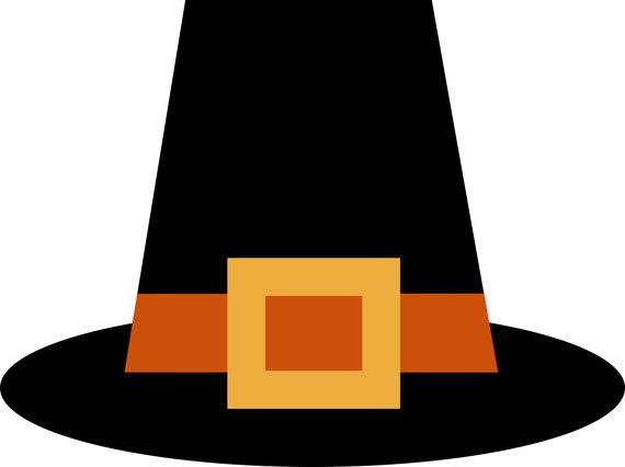 Pilgrim Hat Clip Art, .