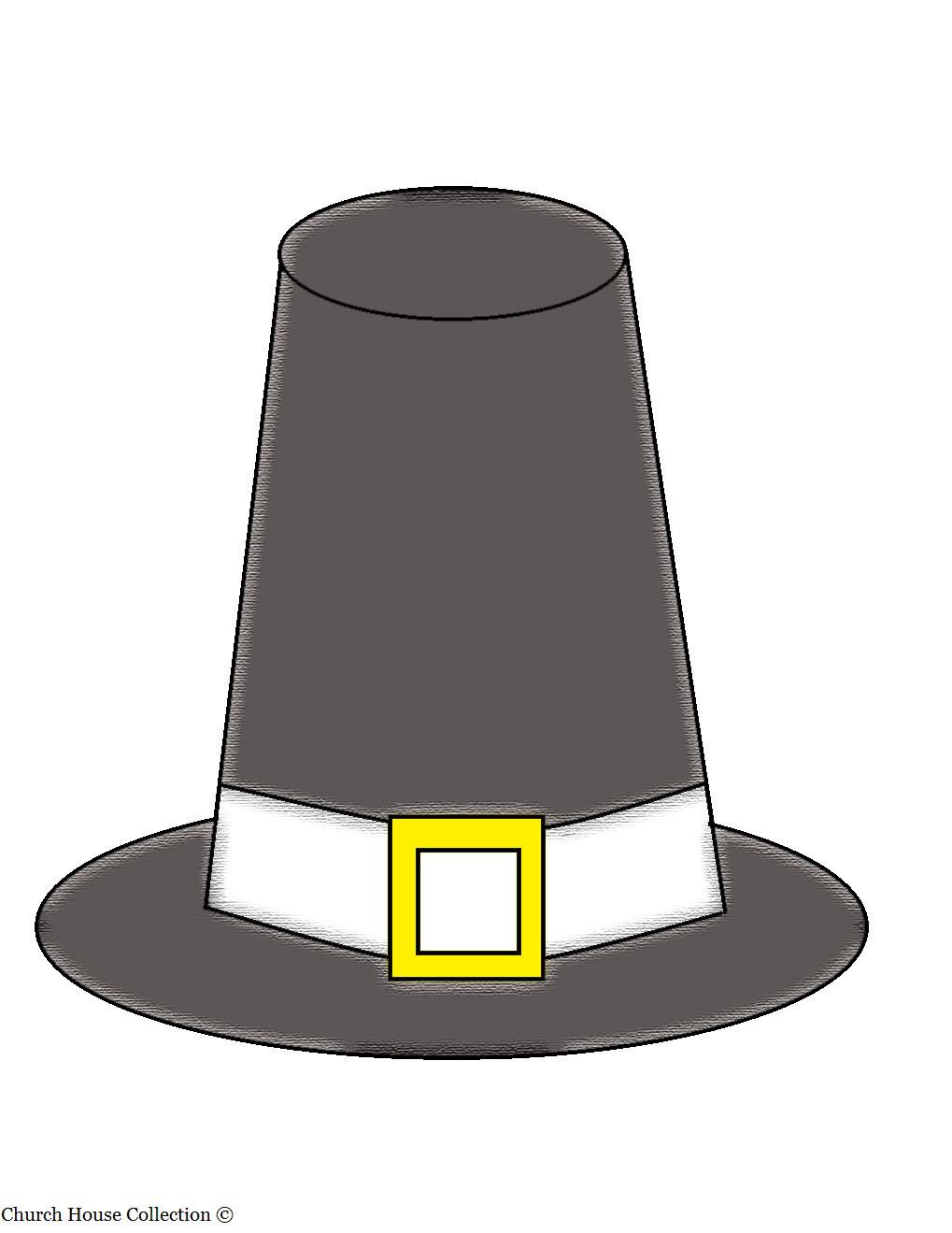 Pilgrim Hat .