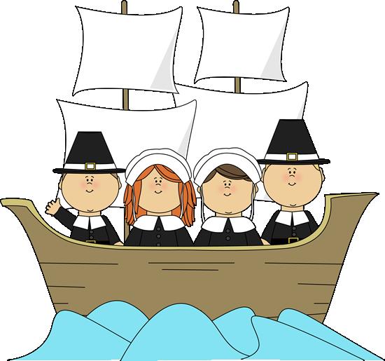 Pilgrims On The Mayflower Clip Art Pilgrims On The Mayflower Image