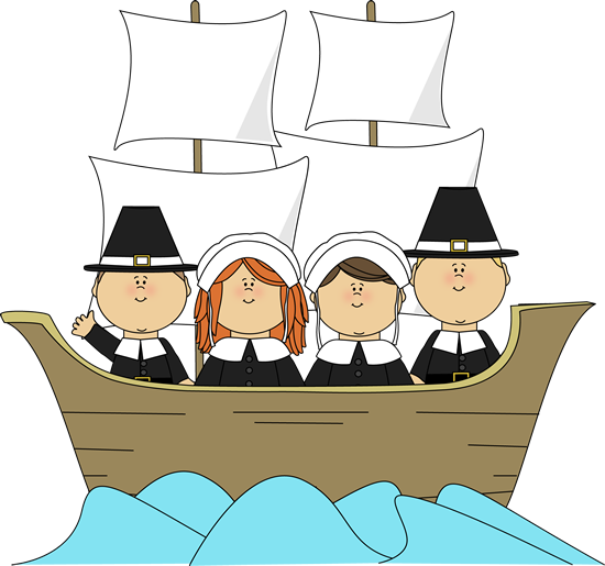 Pilgrims On The Mayflower Clip Art Pilgrims On The Mayflower Image
