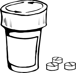 Pills And Bottle Clip Art-Pills And Bottle Clip Art-16