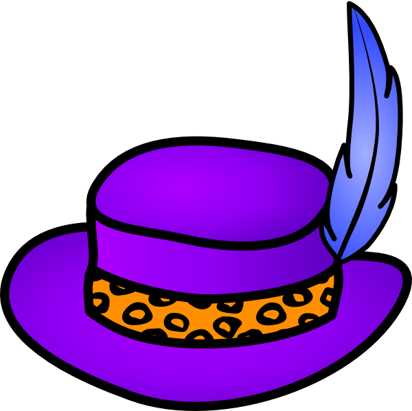 Pimp Hat Clip Art At Clker Com Vector Cl-Pimp Hat Clip Art At Clker Com Vector Clip Art Online Royalty Free-16