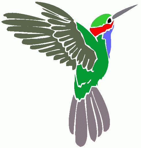 Pin Hummingbird Clip Art Royalty Free Cartoon Stock Image On Pinterest