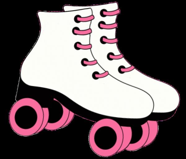 Pin Printable Roller Skate St - Roller Skate Clipart