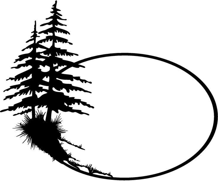 Pine Tree Silhouette Clip Art Clipart Pi-Pine Tree Silhouette Clip Art Clipart pine-7