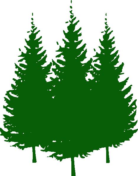 Pine Trees Clip Art
