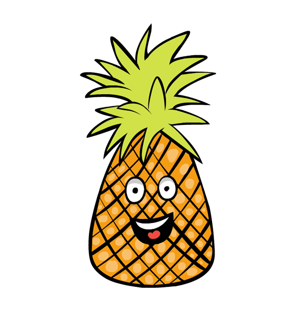 Pineapple clip art 2 clipartwiz