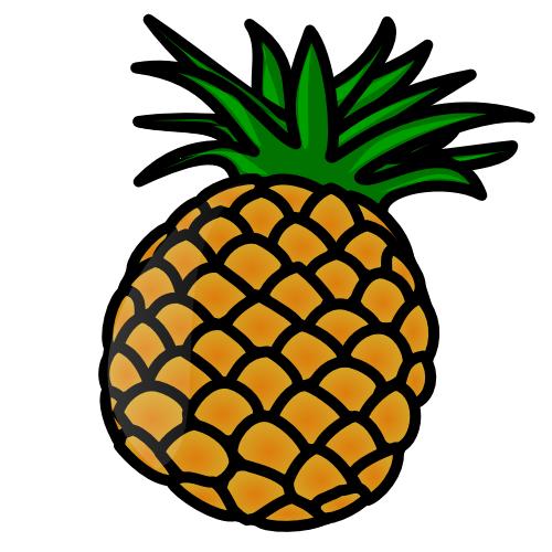 Pineapple Clip Art-Pineapple Clip Art-12