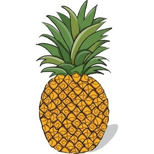 Pineapple clip art - ClipartFest