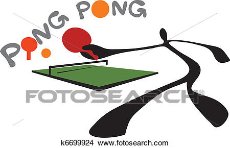 Clipart - Shadow Man Ping Pong Table Ten-Clipart - shadow man ping pong table tenni. Fotosearch - Search Clip Art,  Illustration-13