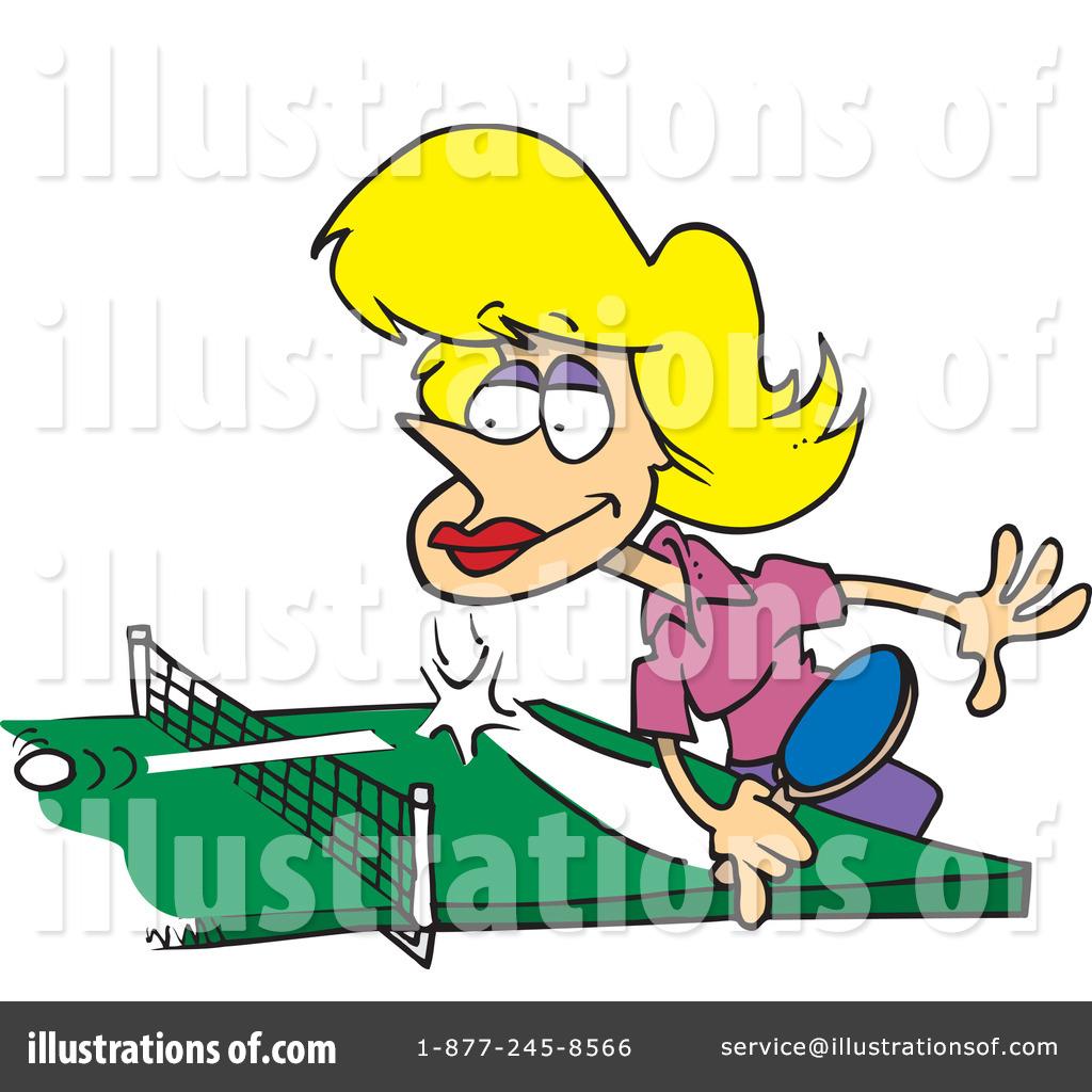 Royalty-Free (RF) Ping Pong Clipart Illu-Royalty-Free (RF) Ping Pong Clipart Illustration #437555 by toonaday-17