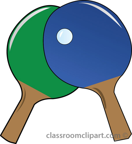 Ping Pong Paddle Clip Art Car .
