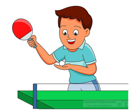 ping pong table clipart. Size: 55 Kb From: Recreation