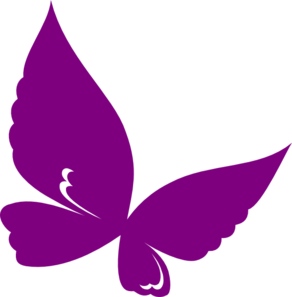 Pink And Purple Butterfly Clipart-pink and purple butterfly clipart-5