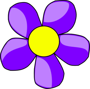 Pink And Purple Flower Clipart-pink and purple flower clipart-4