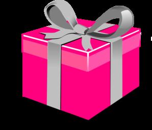 Pink Birthday Present Clip Art-pink birthday present clip art-11