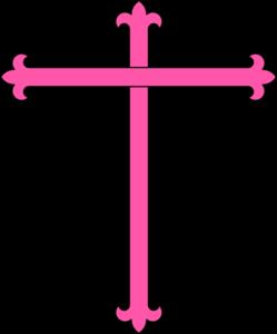 pink cross clipart - Pink Cross Clip Art
