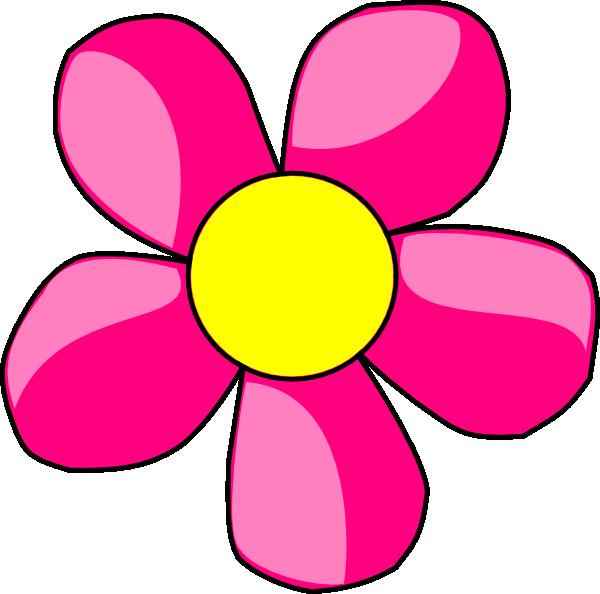 pink daisy flower% . - Clip Art Daisy