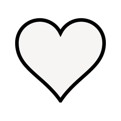pink heart outline clipart-pink heart outline clipart-2