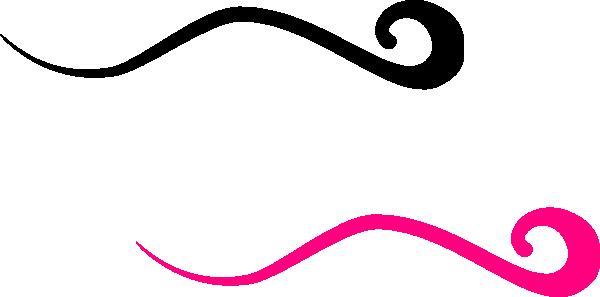 Pink And Black Swoosh Clip Art At Clker -Pink And Black Swoosh Clip Art At Clker Com Vector Clip Art Online-7