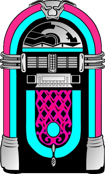 Pink And Blue Jukebox Clip Art At Clker Com Vector Clip Art Online