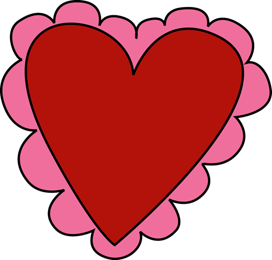 Pink and Red Valentineu0026#39;s Day Heart