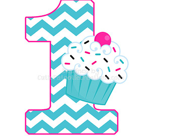 Pink And Turquoise Chevron Cupcake 1st B-Pink And Turquoise Chevron Cupcake 1st Birthday Personalized T Shirt-15