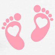 Pink Baby Footprints Clipart Best-Pink Baby Footprints Clipart Best-15