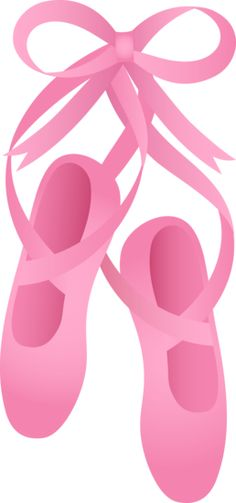 Pink Ballet Slippers Clipart