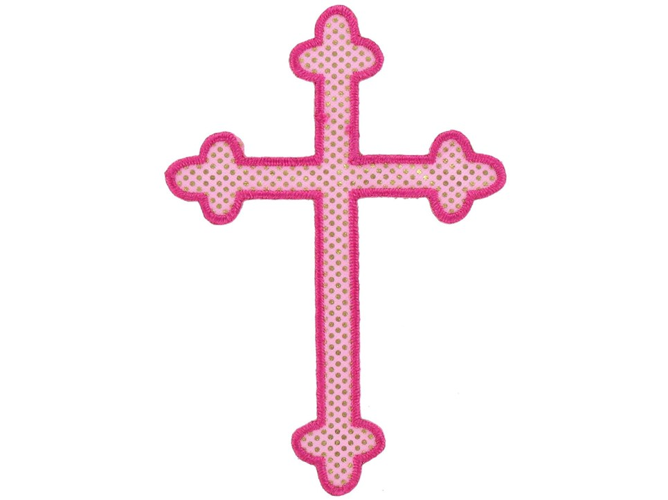 Pink Baptism Cross Clipart Panda Free Clipart Images