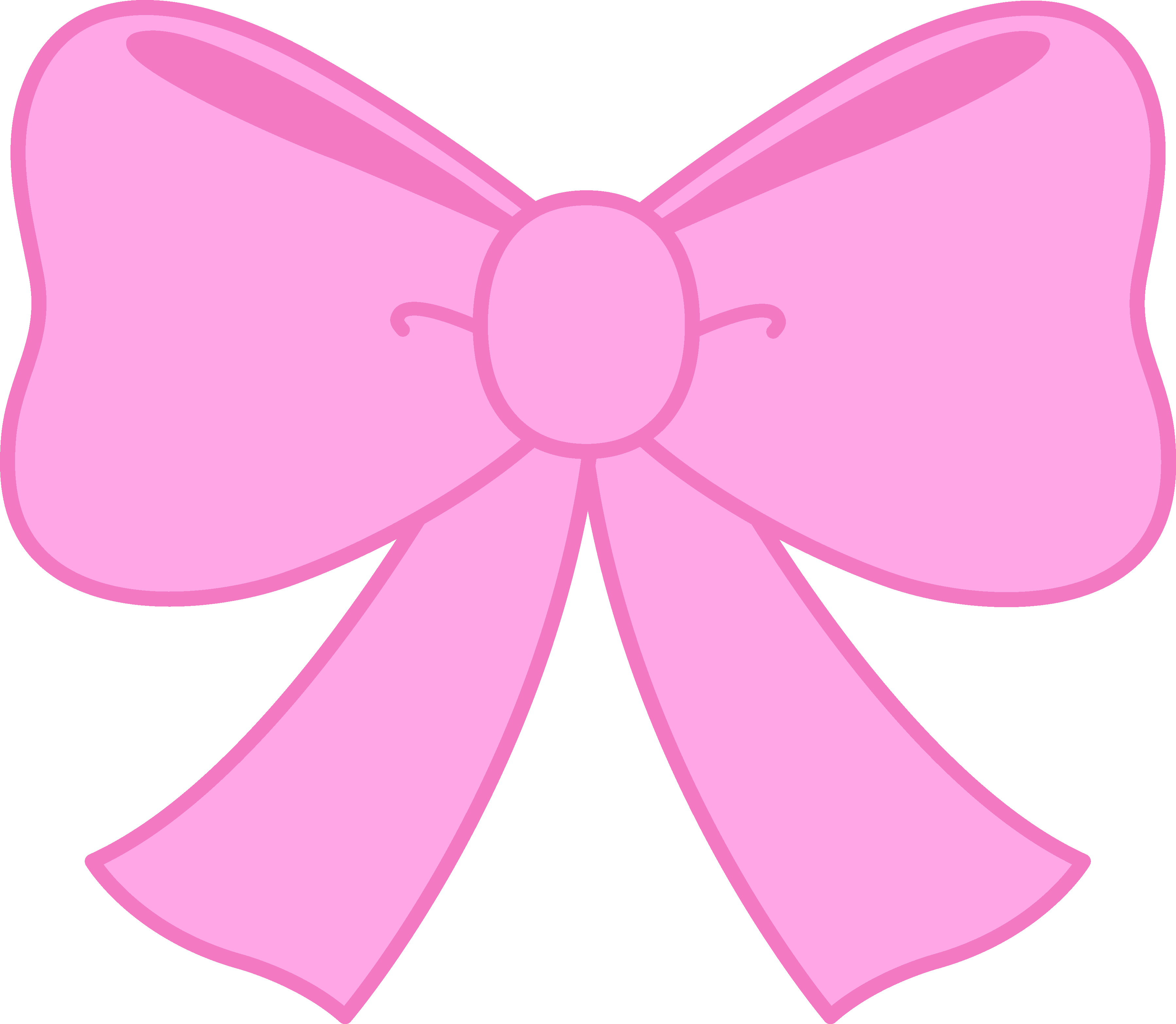 Pink Bow clip art. Pink Bow Pictures