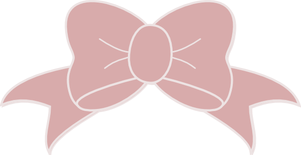 Pink Bow Clipart Transparent .