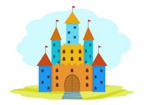 Pink Castle Medieval Clipart Size: 58 Kb-Pink Castle Medieval Clipart Size: 58 Kb-19