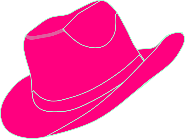 Pink Cowgirl Hat Clip Art At .-Pink Cowgirl Hat Clip Art at .-16