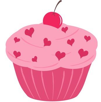 Pink Cupcake Clip Art Teacherspayteachers Com