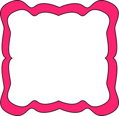 Pink Curvy Frame. Free Clip Art. Fantast-Pink Curvy Frame. Free Clip Art. Fantastic Website with lots of free clip art-17