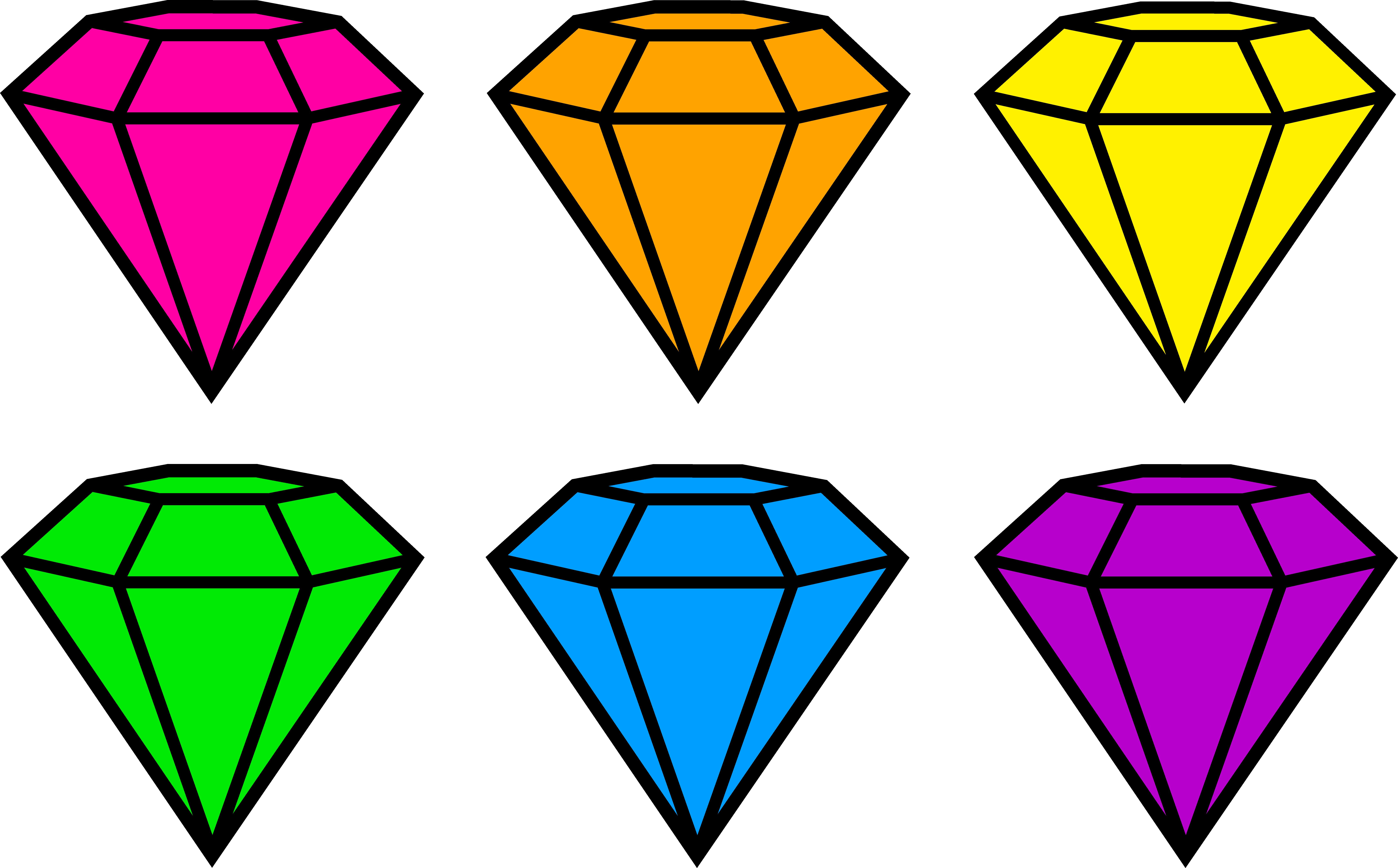 Pink Diamond Clip Art-Pink diamond clip art-16