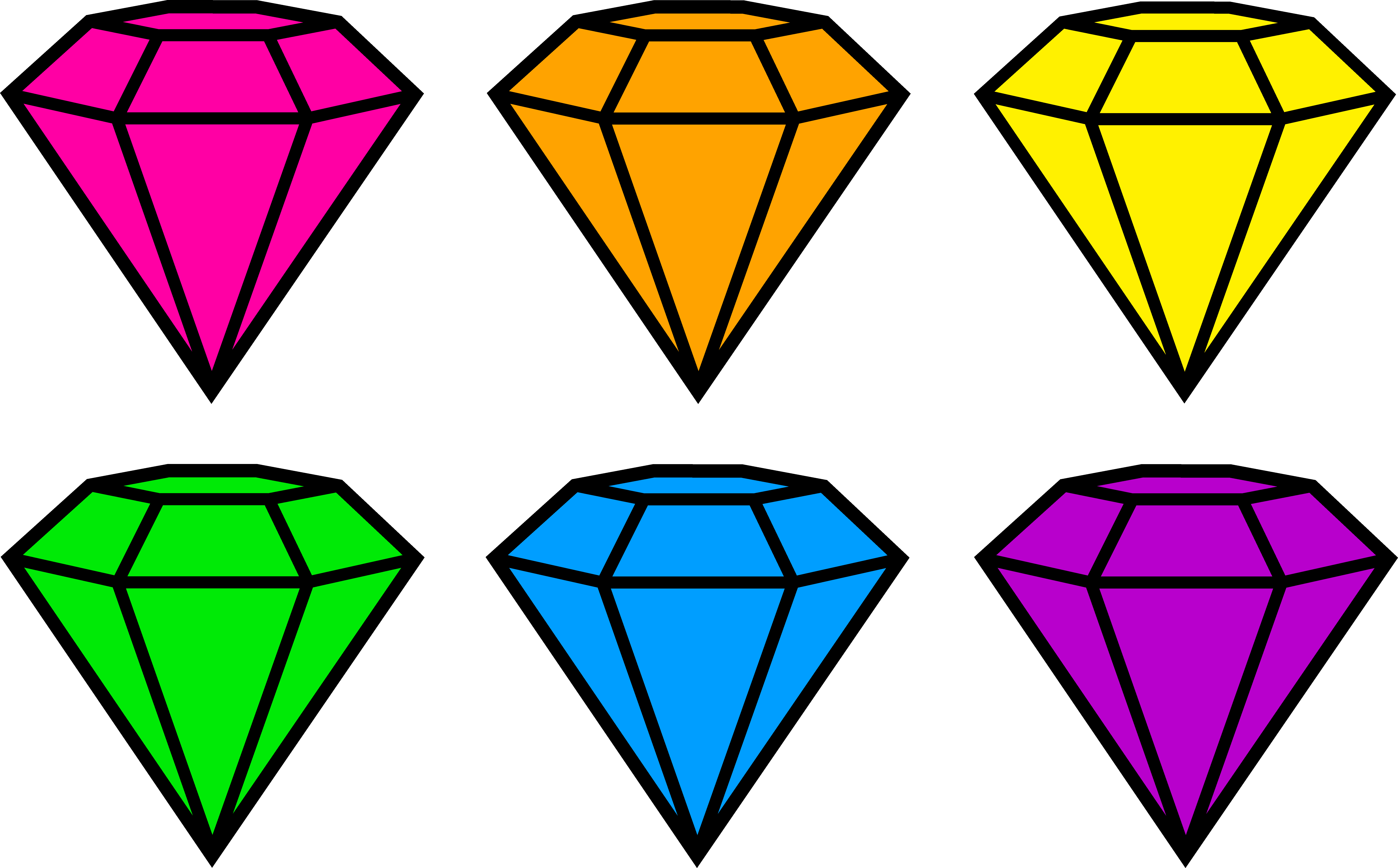 Pink Diamond Clip Art-Pink diamond clip art-17