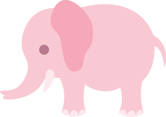 This cute cartoon elephant .