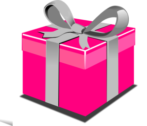 Pink Gift Clipart #1 - Clipart Present