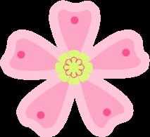 Pink Green Flower-Pink Green Flower-11