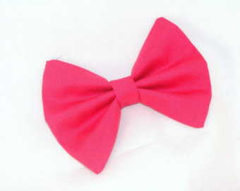 Pink Hair Bow Clip Art Hair Bow Vintage Inspired Hot