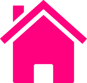 Pink house clip art at clker vector clip-Pink house clip art at clker vector clip art-6