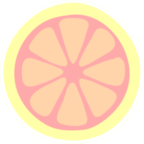 Pink Lemon Slice Clip Art At Clker Com V-Pink Lemon Slice Clip Art At Clker Com Vector Clip Art Online-10