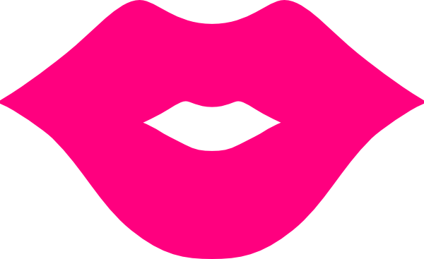 Pink Lips Clip Art At Clker C - Lip Clip Art